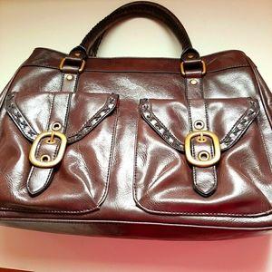 Vintage Nine West Leather Bag
